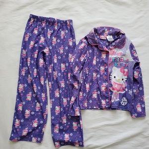 Other - Hello kitty girls pajamas 7/8